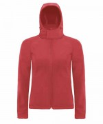B&C HOODED SOFTSHELL/WOMEN