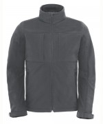 B&C HOODED SOFTSHELL/MEN jacket