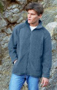 Polar Fruit of the Loom Full Zip Fleece - 62-510