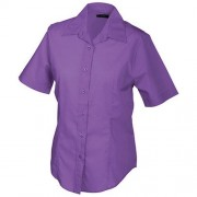 James & Nicholson JN603 Ladies' Promotion Blouse Short-Sleeved